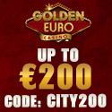 Golden Euro Casino - EXCLUSIVE BONUS - 100% to €200 on 1st Deposit